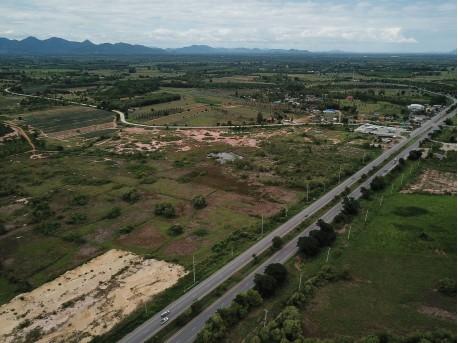 Terrain 9 rai 149 T.W. à vendre à Prachuap Khiri Khan