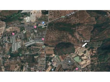 Terrain 1 rai à vendre à Hua hin Red mountain