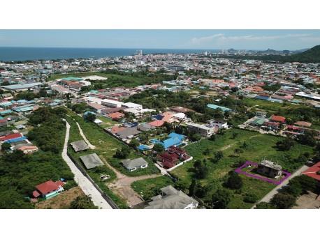 Terrain 100 t.w. avec vue mer à vendre à Hua hin