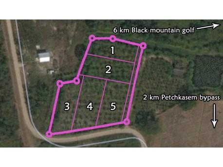 Terrain à vendre à Hua Hin Thailande 4511 mètres carrés