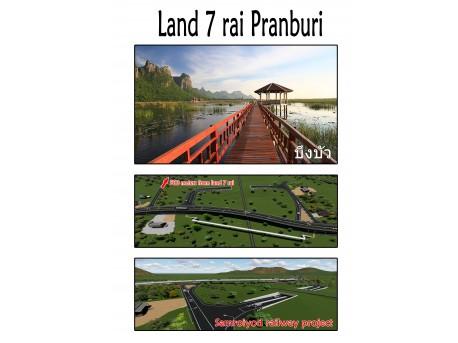 Terrain 7 rai Pranburi