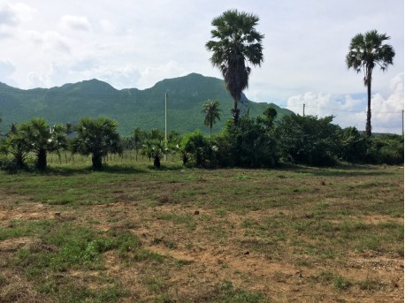 Land 3 rai 800 M from beach for sale in Pranburi