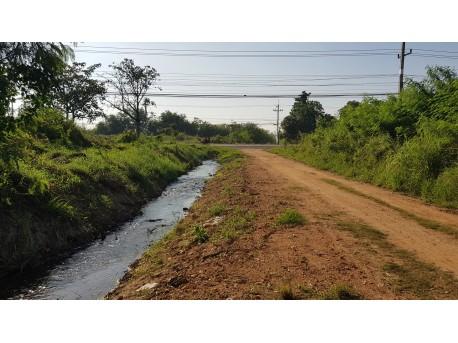 Land 3 rai for sale in Pranburi 35 M from Phetkasem road