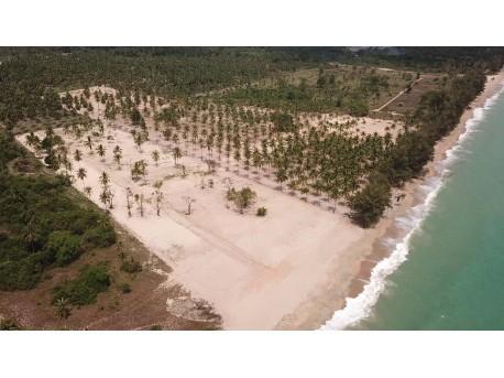Terrain 20 rai bord de mer à vendre a Thap Sakae