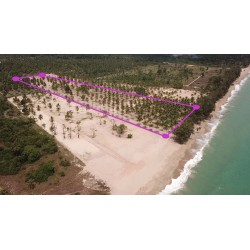 Plots for sale on the beach in Thap Sakae