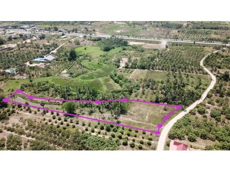 Terrain 3 Rai 361 tw à vendre à Pranburi 450 m de Phetkasem