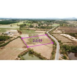 Land 2 rai 339 T.w. for sale in Pranburi