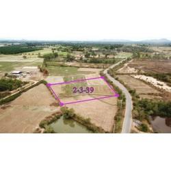 Terrain 2 rai 339 T.W. à vendre à Pranburi