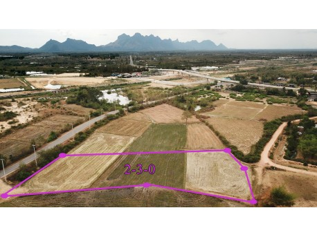 Terrain 2 Rai 300 T.W. à vendre à Pranburi