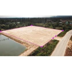 Terrain 3 rai 160 T.W. à vendre à Pranburi