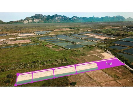 Lake land 1 rai for sale in Pranburi
