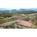 Terrain 15 rai 66 t.w. à vendre à Pranburi