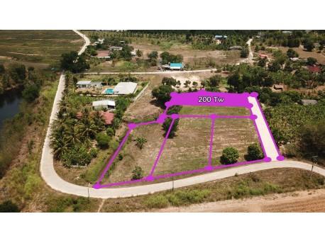Parcelle de 800 m² à vendre à Hua Hin